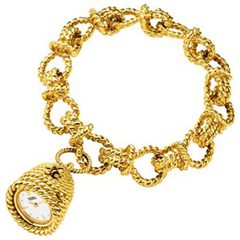 18k Yellow Gold Beehive Bracelet Watch