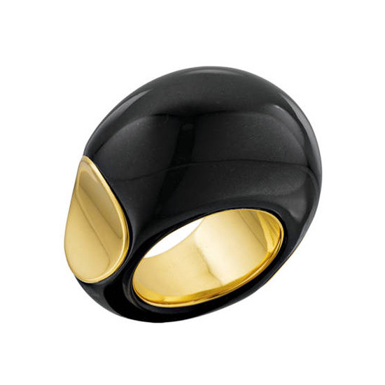 "Black Jade ""Copa"" Ring"