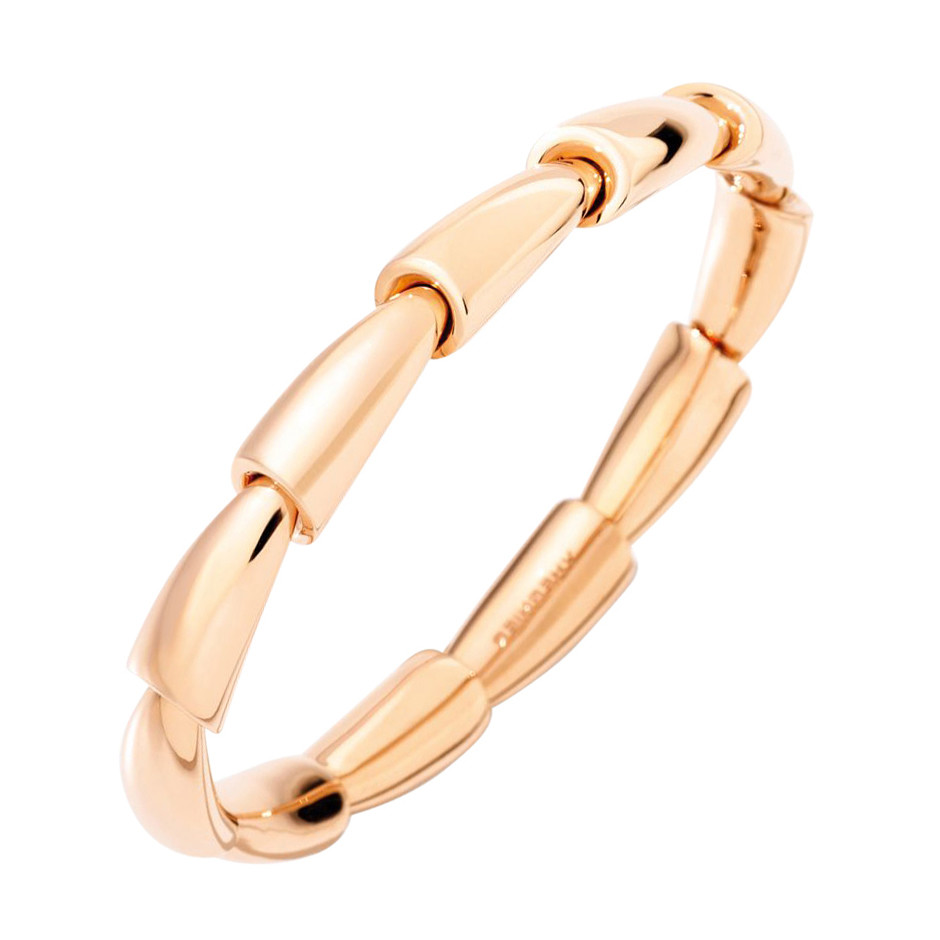 "18k Rose Gold ""Calla Media"" Cuff"