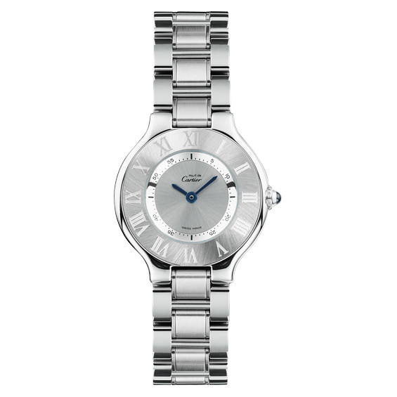 fed73079adfe Cartier 21 Must de Cartier Small Quartz Steel (W10109T2)
