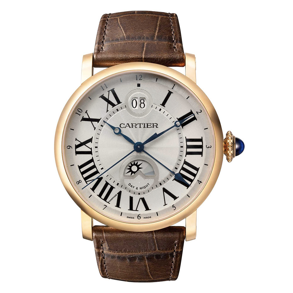 Rotonde Second Time Zone Rose Gold (W1556220)