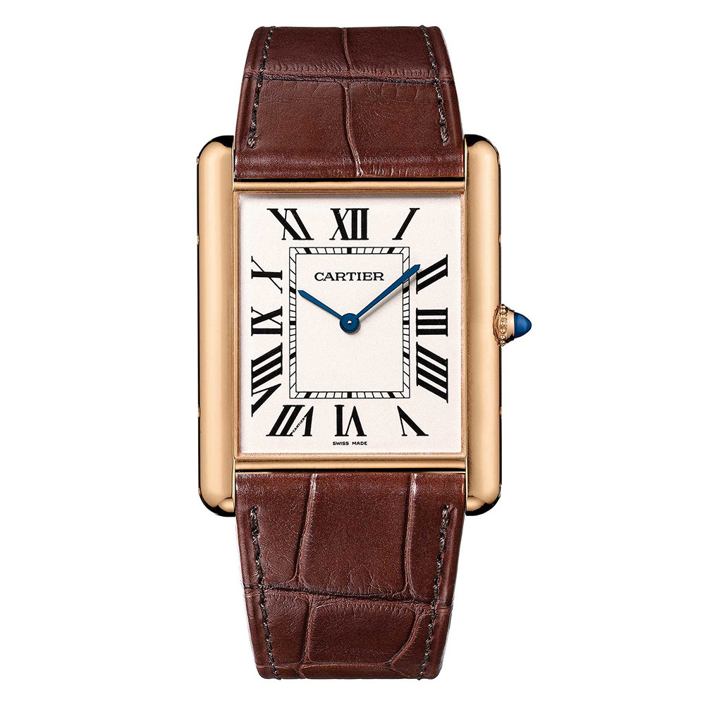 Tank Louis Cartier Extra-Flat Rose Gold (W1560017)