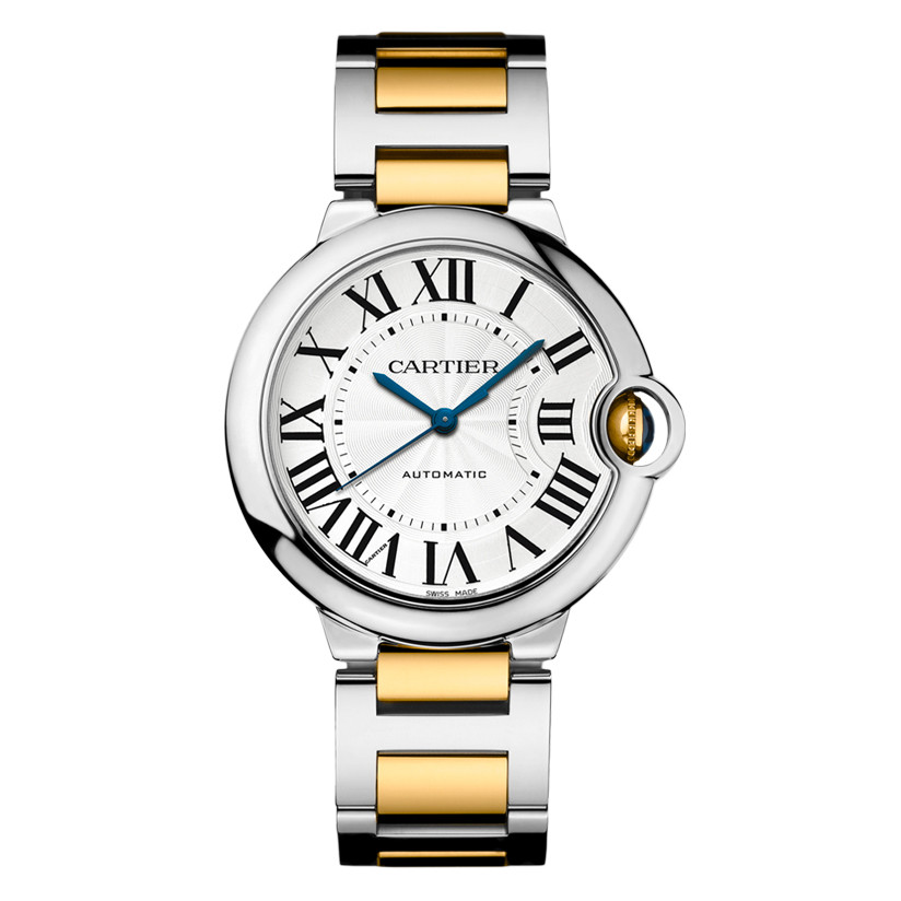 Ballon Bleu 36mm Steel & Yellow Gold (W2BB0012)