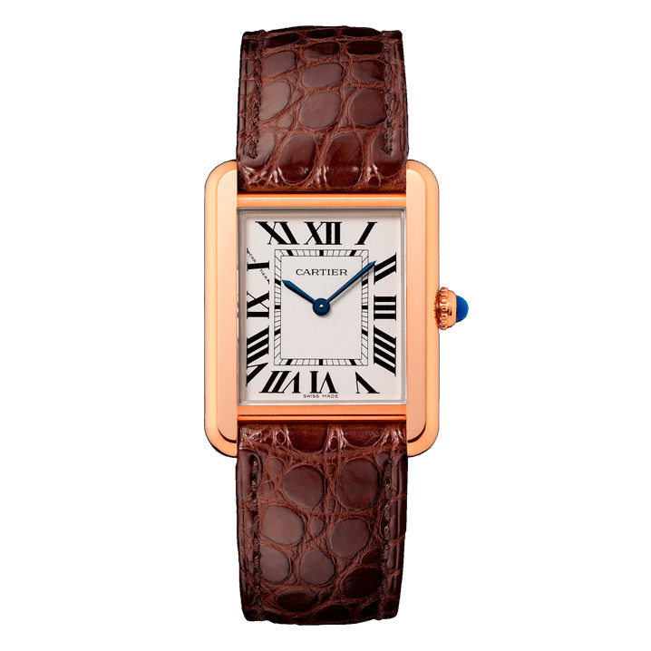 Tank Solo Small Rose Gold & Steel (W5200024)