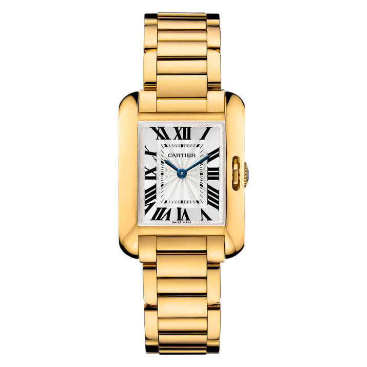 Tank Anglaise Small Yellow Gold (W5310014)