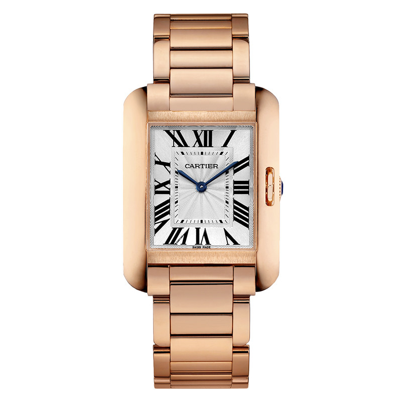 Tank Anglaise Medium Rose Gold (W5310041)
