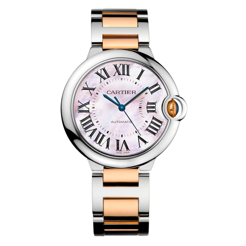 Ballon Bleu 36mm Steel & Rose Gold (W6920033)