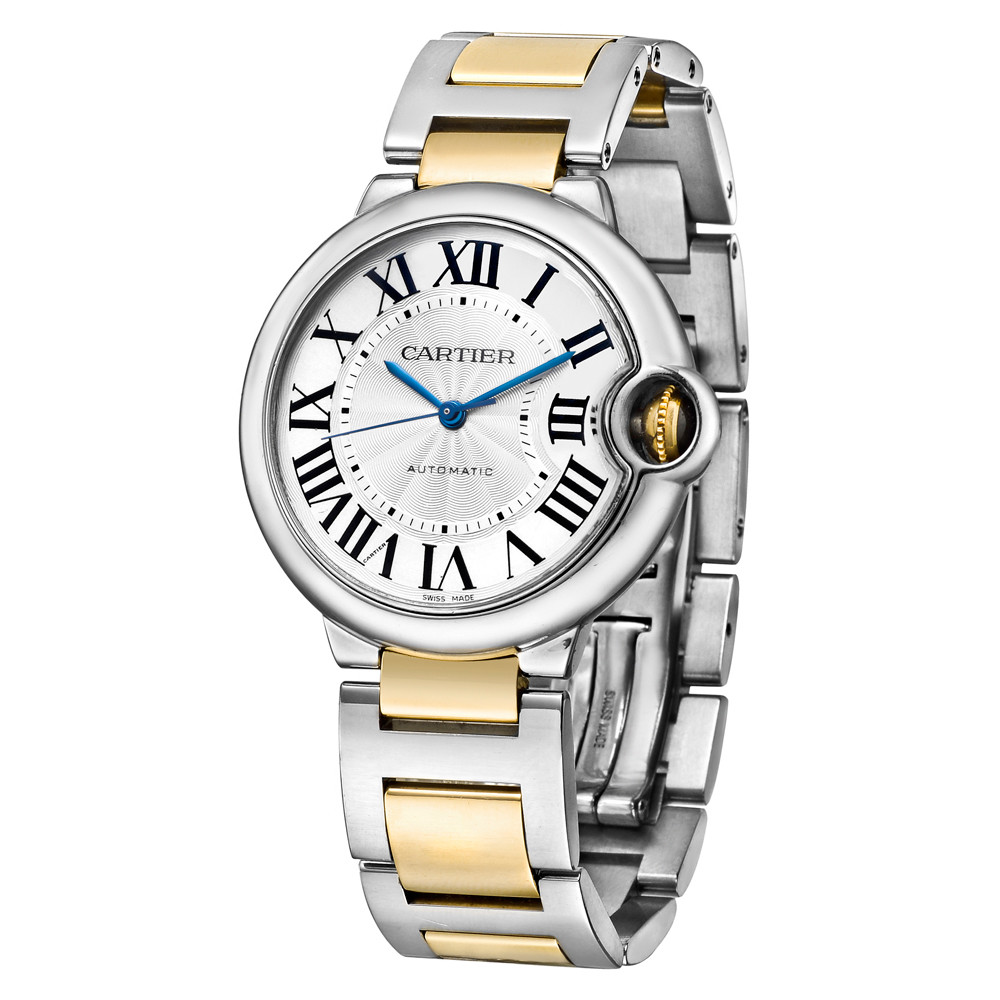 Ballon Bleu 36mm Steel & Yellow Gold (W6920047)