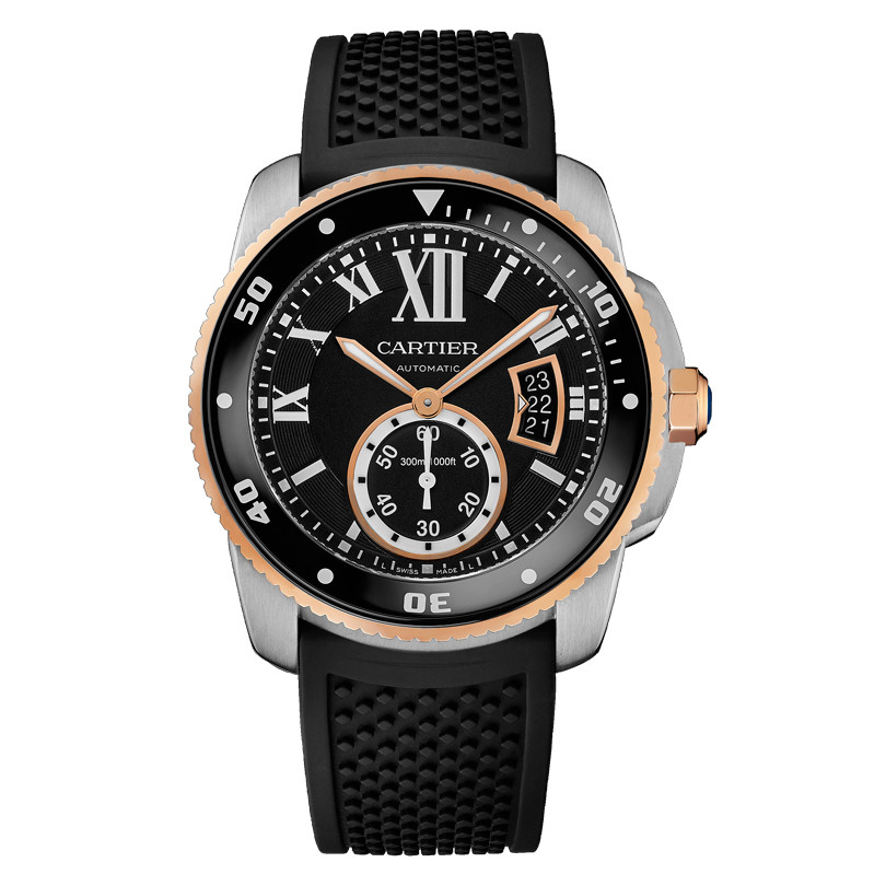 Calibre Diver Steel & Rose Gold (W7100055)