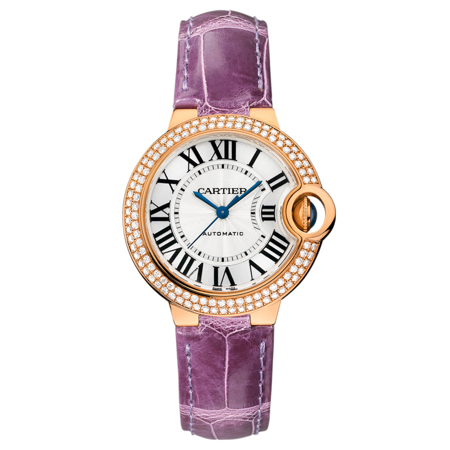 Ballon Bleu 33mm Rose Gold & Diamond (WE902036)
