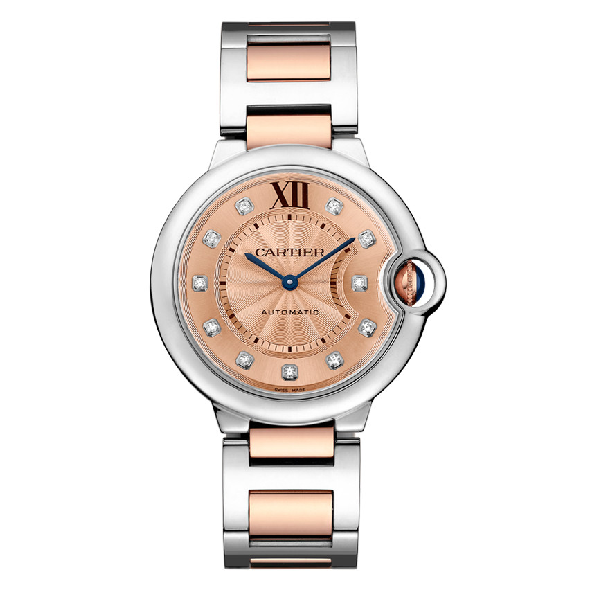 Ballon Bleu 36mm Steel & Rose Gold (WE902054)