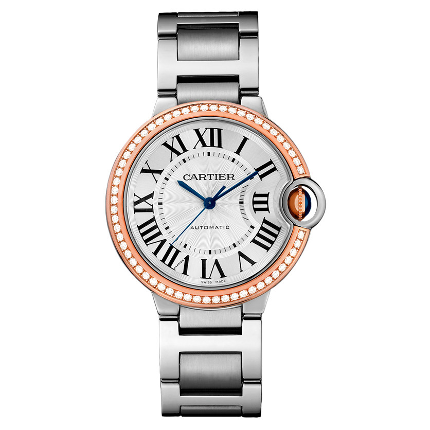 Ballon Bleu 36mm Steel & Rose Gold (WE902081)