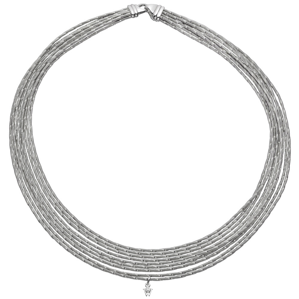 "18k White Gold ""Brilliance of the Sun"" Necklace"