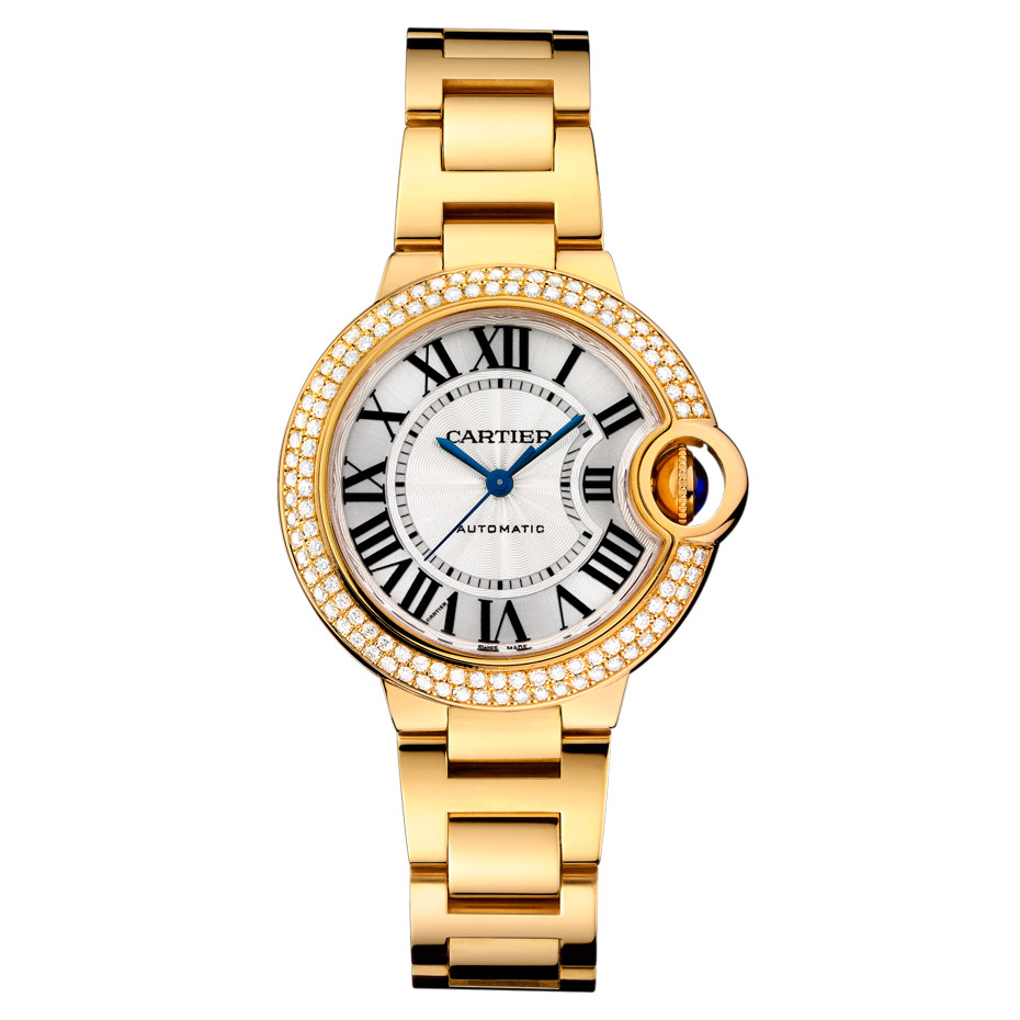 Ballon Bleu 33mm Yellow Gold & Diamond (WJBB0002)