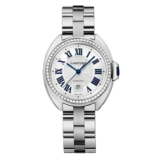 Clé 31mm White Gold & Diamond (WJCL0002)