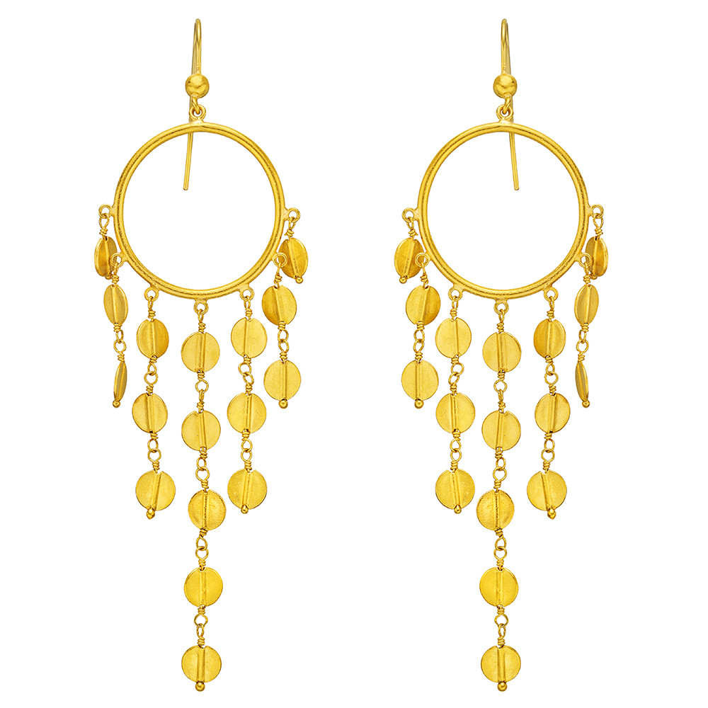 gallery triumph kanoti gold gld earrings