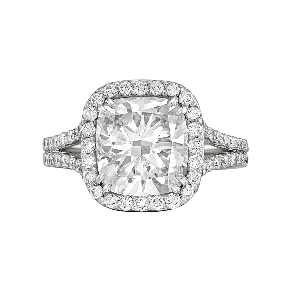 Estate 301 Carat Cushioncut Diamond Ring Product Image 1000
