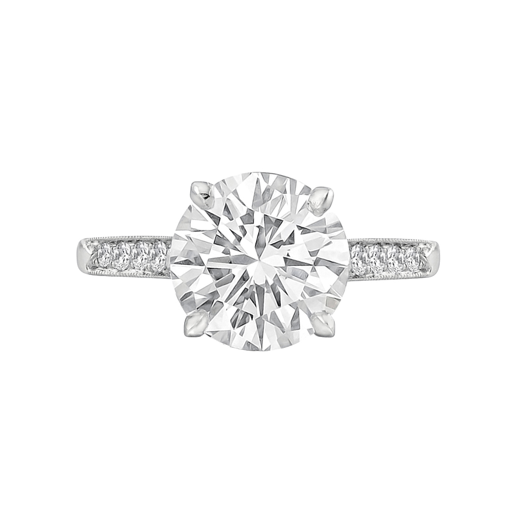 Betteridge 3 02 Carat Round Brilliant Cut Diamond Engagement Ring
