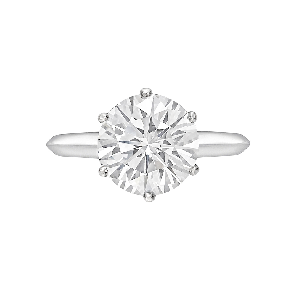 Tiffany 302 Carat Round Brilliant Diamond Ring
