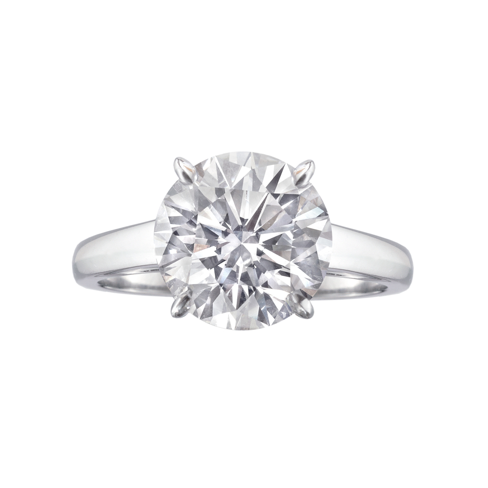 Betteridge 3 12 Carat Round Brilliant Cut Diamond Engagement Ring