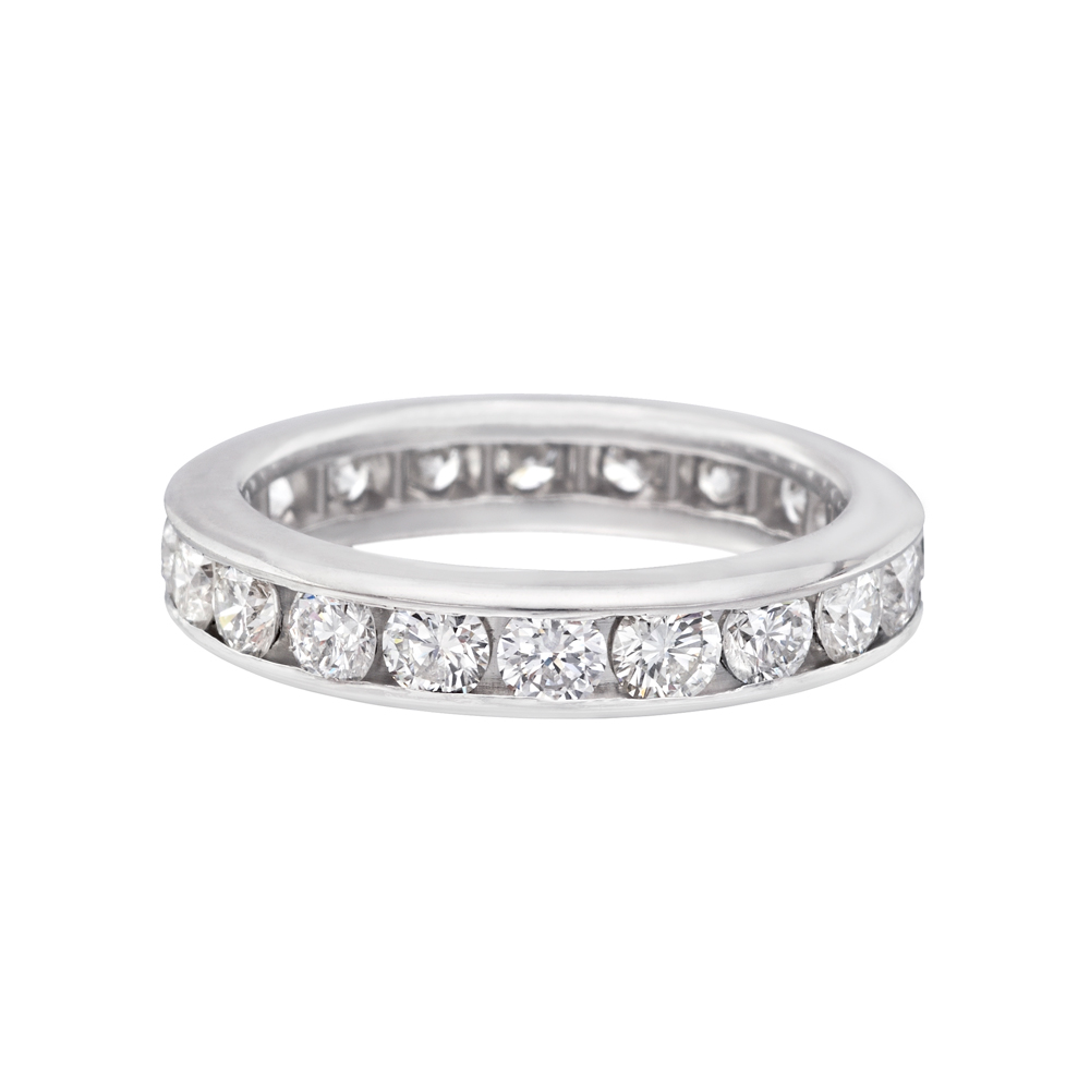 Channelset Diamond Eternity Band (2 Ct Tw)  Betteridge. Aquamarine Bands. Lung Cancer Bracelet. Anniversary Lockets. Redesigned Engagement Rings. Hand Watches. Yellow Sapphire925 Sterling Silver. Kohinoor Diamond. Platinum Band Ring