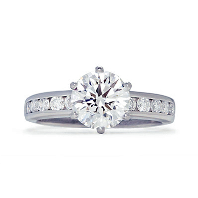 Tiffany Engagement Rings Round Estate Tiffany ...