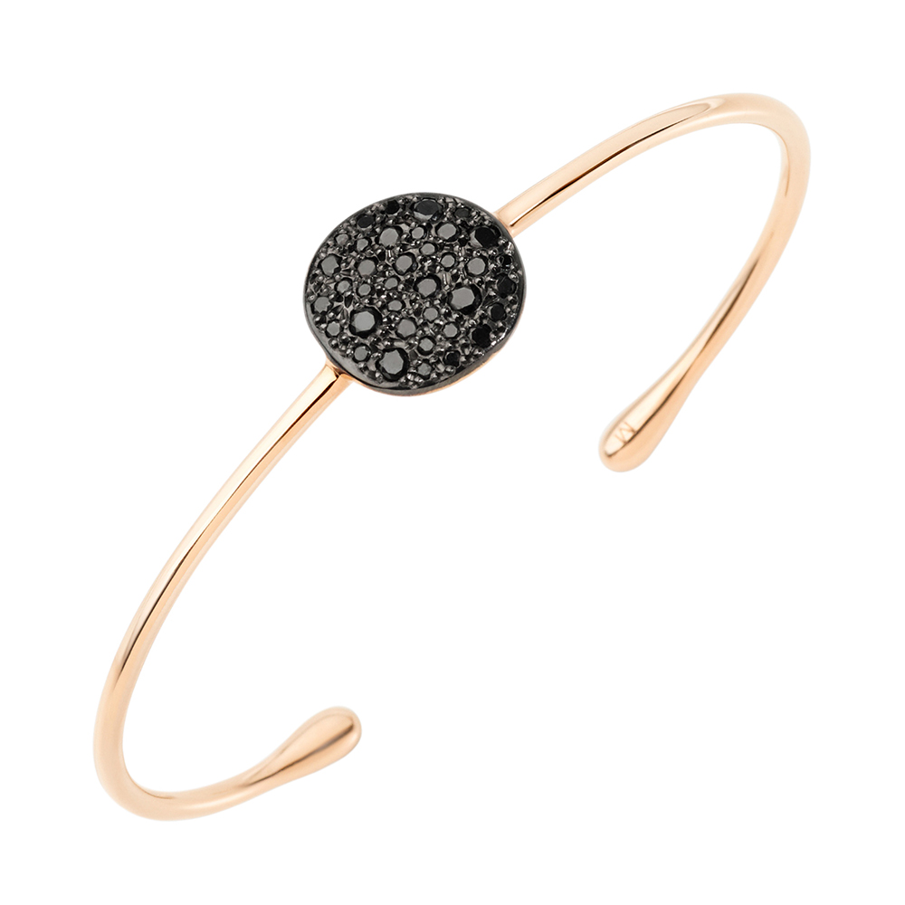 pomellato black diamond quotsabbiaquot cuff bracelet betteridge