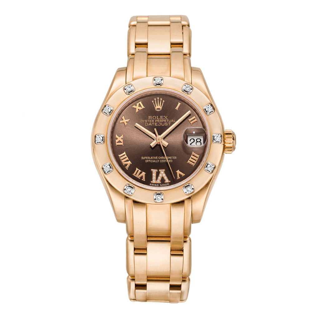 Pre owned rolex 80315 pearlmaster 29 everose gold for Rolex pearlmaster