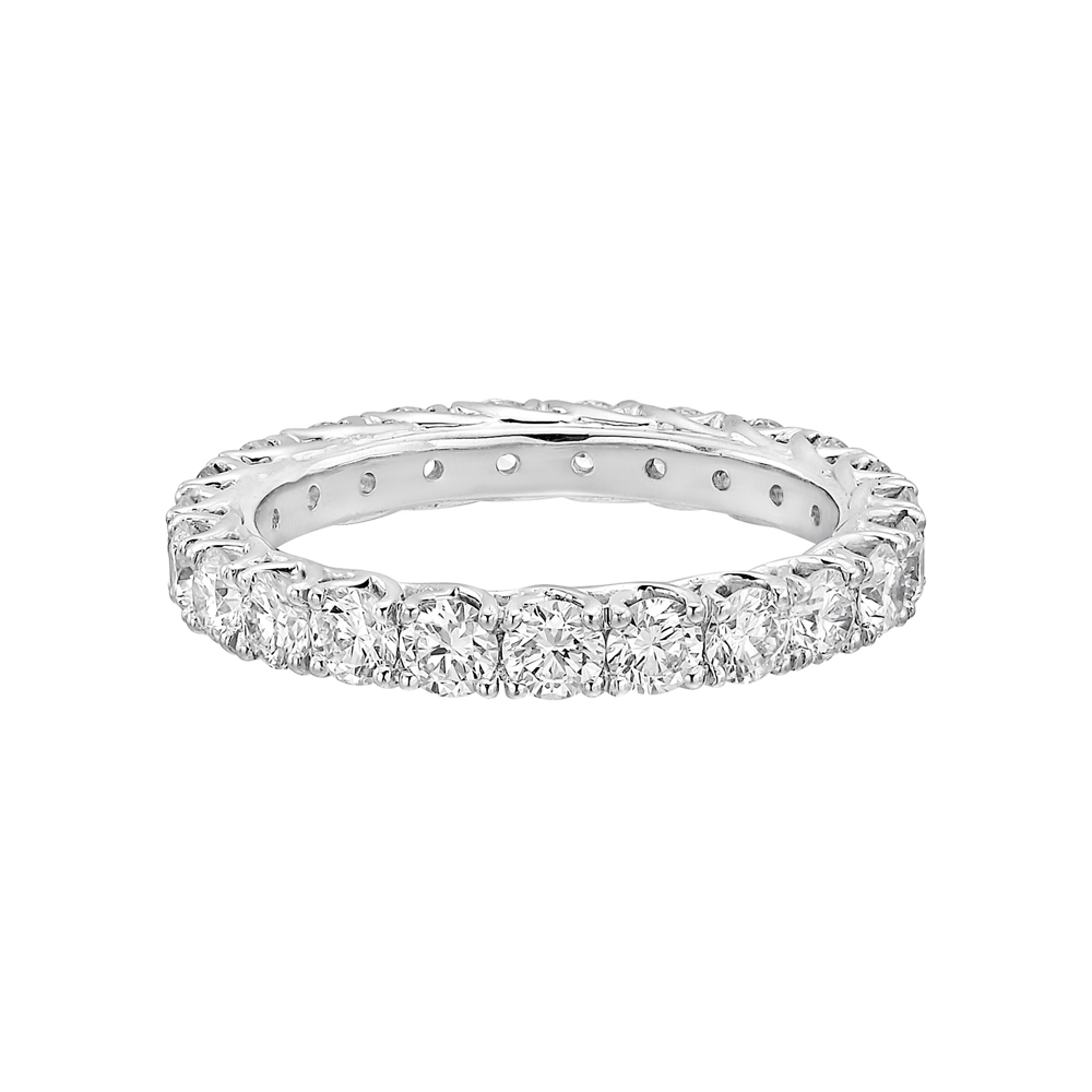 Round Brilliant Diamond Eternity Band (2 Ct Tw)  Betteridge. Blue Stone Engagement Rings. Patek Philippe Watches. Ruby Bands. Saphire Diamond. Skin Watches. Temple Gold Jewellery. Diamond Band. Plain Gold Bands