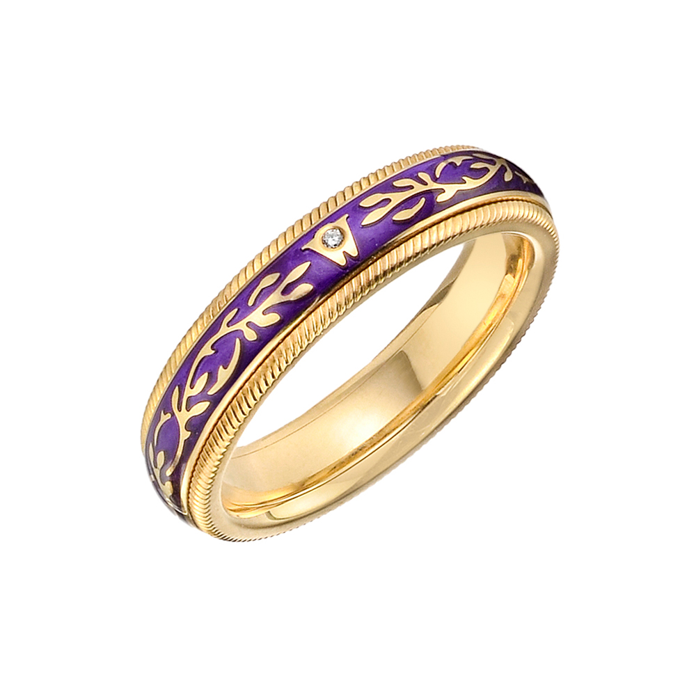 Wellendorff Violet Fantasy Ring