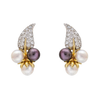 d15e2d642 tiffany and co pearl and diamond earrings