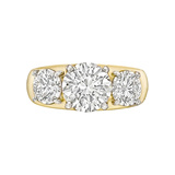 2.01 Carat Round Brilliant Diamond Ring