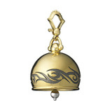 "Extra Large ""Tribal"" 18k Gold Meditation Bell"