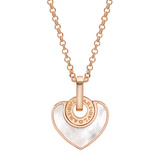 "Mother-of-Pearl ""Cuore"" Heart Pendant"