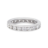 Channel-Set Diamond Eternity Band (2.00 ct tw)