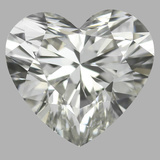 0.81 Carat Heart Diamond (I/IF)