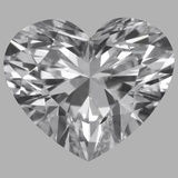 1.20 Carat Heart Diamond (D/VVS1)