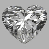 1.26 Carat Heart Diamond (F/VS2)