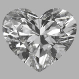 1.09 Carat Heart Diamond (E/VVS1)