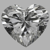 3.43 Carat Heart Diamond (G/IF)