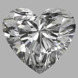 0.78 Carat Heart Diamond (D/VVS2)