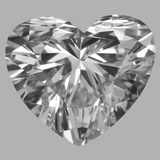 1.01 Carat Heart Diamond (F/VVS2)