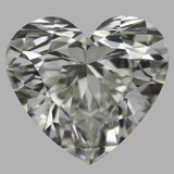 1.31 Carat Heart Diamond (J/IF)