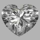 0.75 Carat Heart Diamond (E/SI1)