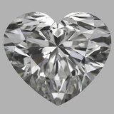 0.75 Carat Heart Diamond (G/VS2)