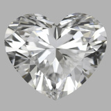 4.08 Carat Heart Diamond (E/VS1)