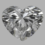 0.90 Carat Heart Diamond (D/VS1)
