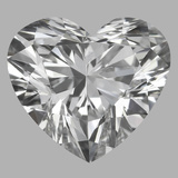 0.80 Carat Heart Diamond (D/VS1)