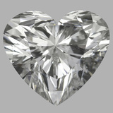 1.02 Carat Heart Diamond (H/SI1)