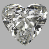 3.00 Carat Heart Diamond (H/IF)